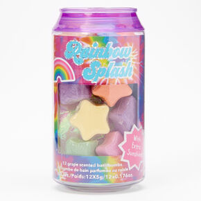 Rainbow Splash Bath Bomb Can Set - 12 Pack,