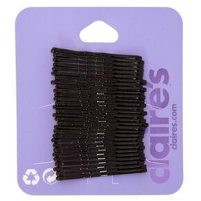 Mini Bobby Pins - Black, 30 Pack,