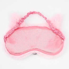 Pastel Fox Sleeping Mask - Pink,
