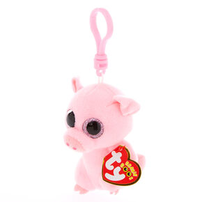3e73cc6bff9 Ty Beanie Boo Posey the Pig Keyring Clip