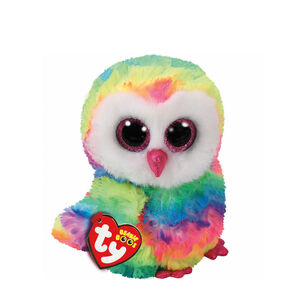 bd90efce276e Ty Beanie Boo Small Owen the Owl Plush Toy