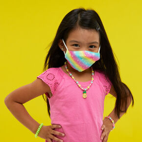 Cotton Rainbow Ombre Face Mask - Child Small,