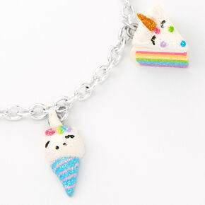 Bracelet à breloques bonbons licorne,