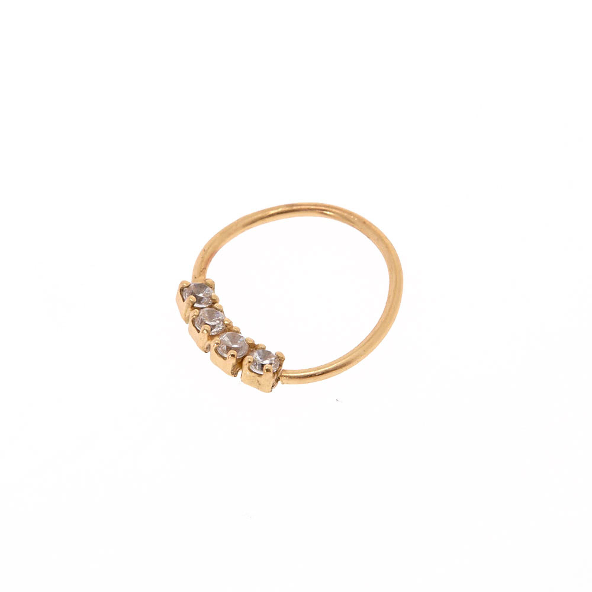 in rings nose body gold alloy finish women s jewelry