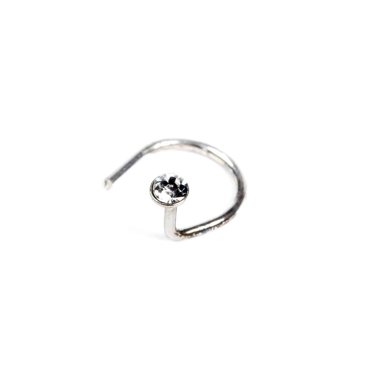 Crystal Curved Nose Stud Claire S
