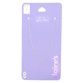 Silver Necklace Chain,