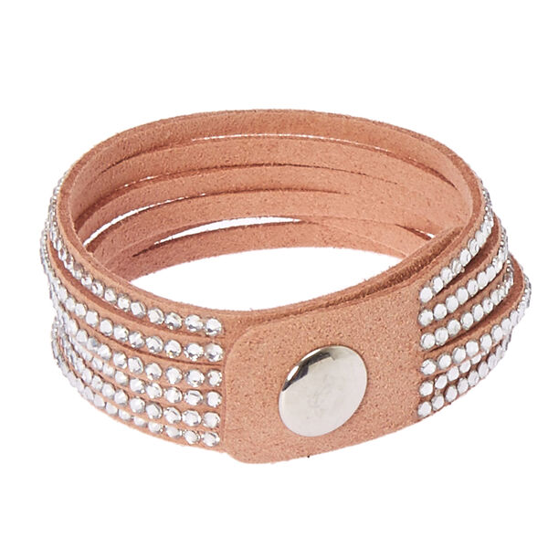 Claire's - studded layered wrap bracelet - 2
