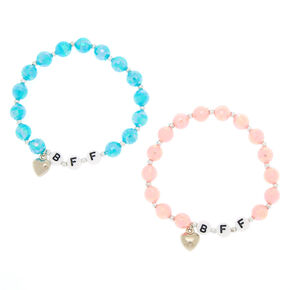 Best Friends Disco Bead Stretch Bracelets 2 Pack