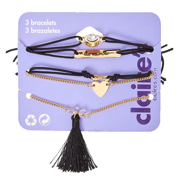 Tassel Stretch Bracelet Set,