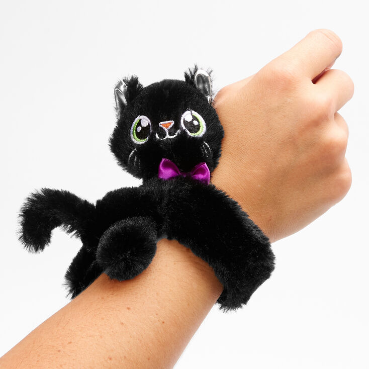Huggie Cat Slap Bracelet - Black,