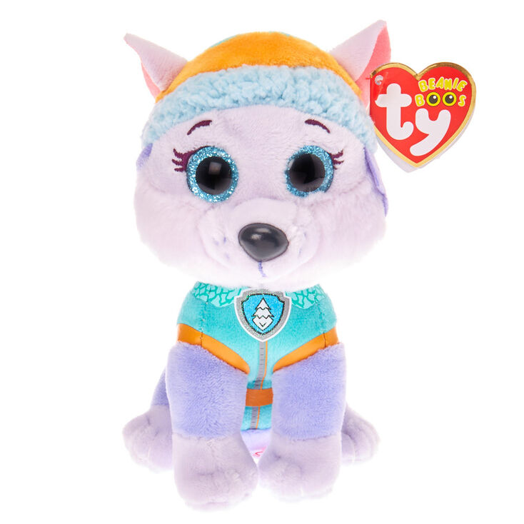 Ty Beanie Boos Paw Patrol Everest Soft Toy - Lilac  02a35d84e7d