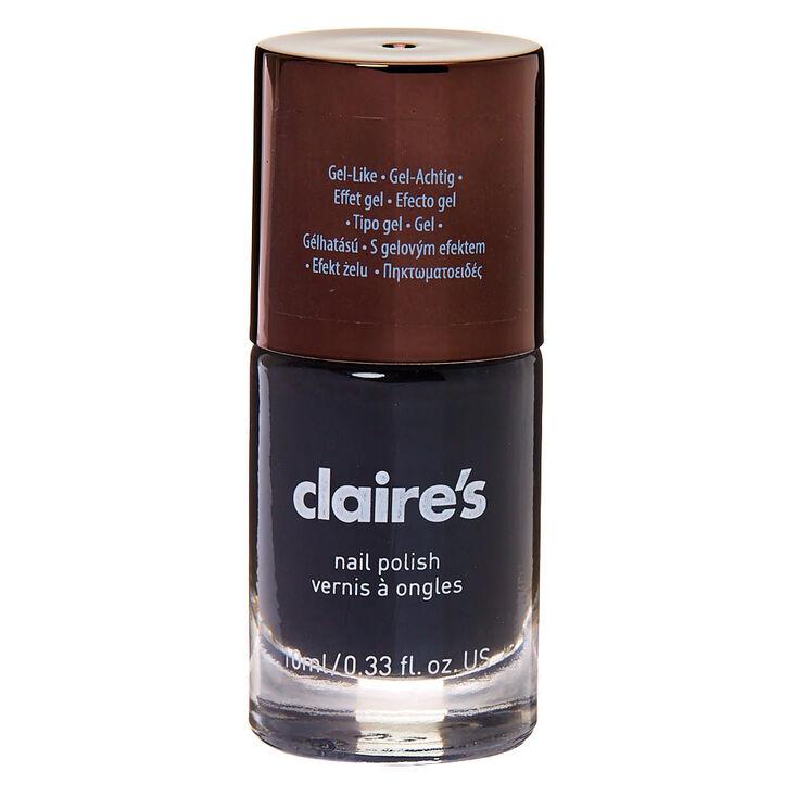 Gel-Like Nail Polish - Charcoal,