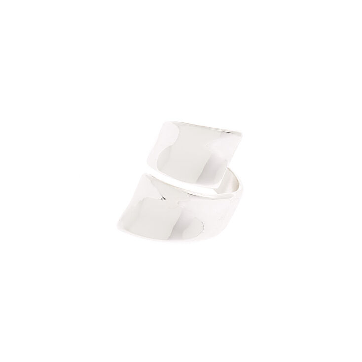 Silver Wrap Ring,