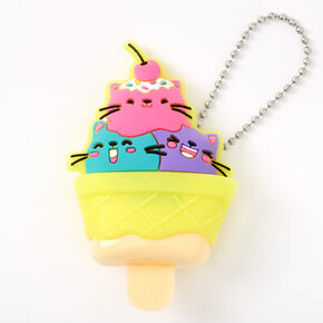 Pucker Pops Cat Ice Cream Lip Gloss - Ice Cream,