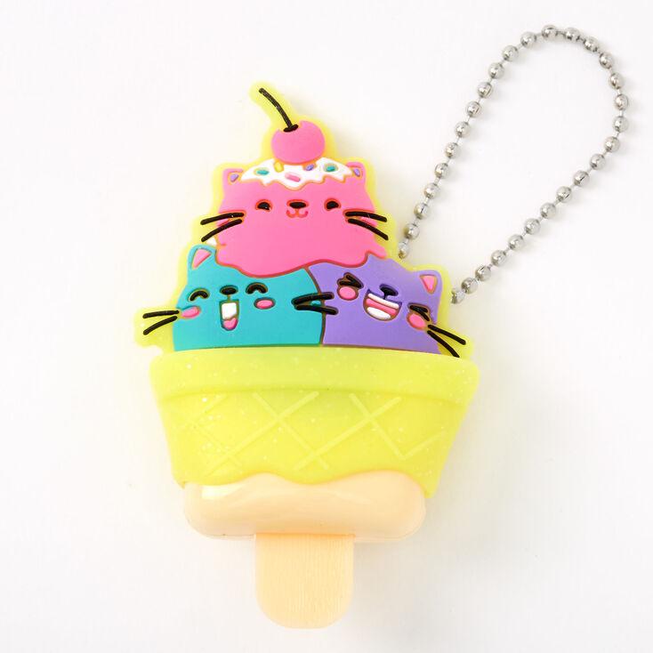 Pucker Pops Cat Ice Cream Lip Gloss - Ice Cream,
