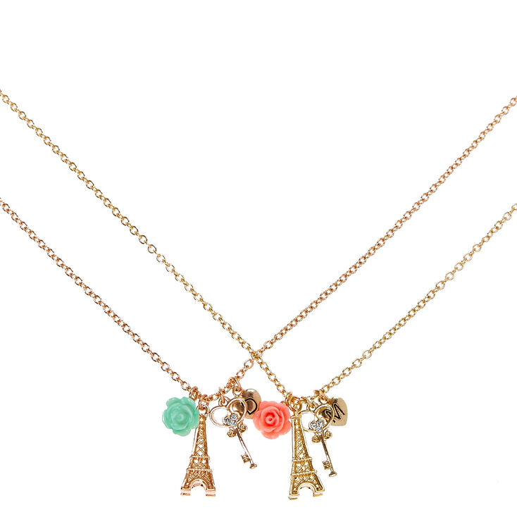 Mother and daughter best friends gold tone eiffel tower pendant mother and daughter best friends gold tone eiffel tower pendant necklaces aloadofball Choice Image