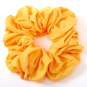 Giant Hair Scrunchie - Yellow,