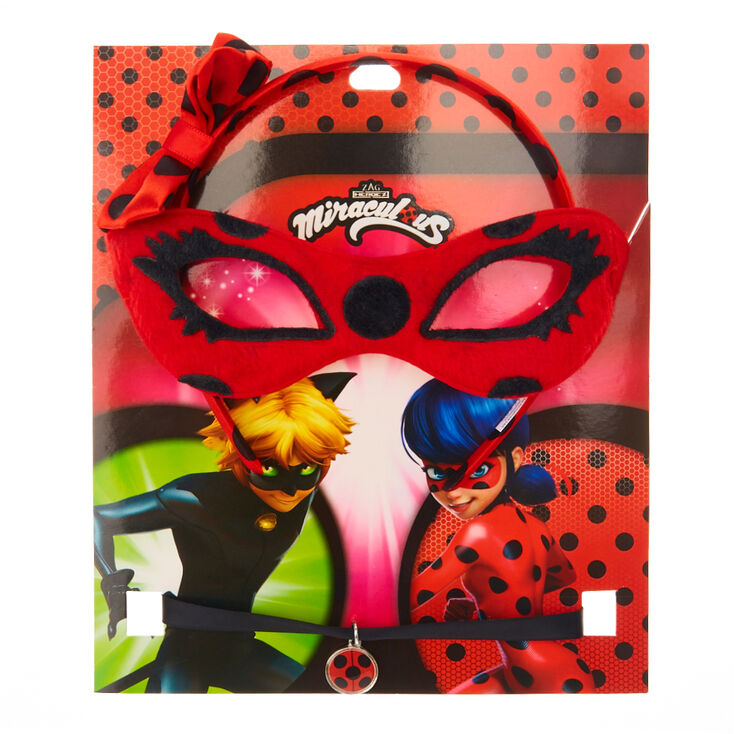 miraculous ladybug accessory set red black claire s