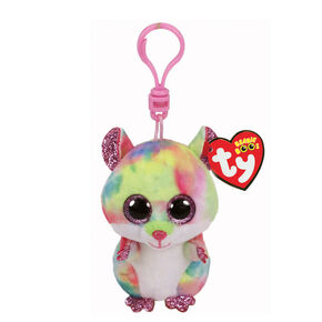 96207ef57c3 Ty Beanie Boo Rodney the Hamster Keyring Clip