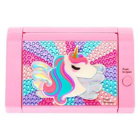 Miss Glitter the Unicorn Mechanical Bling Lip Gloss Set - Pink,