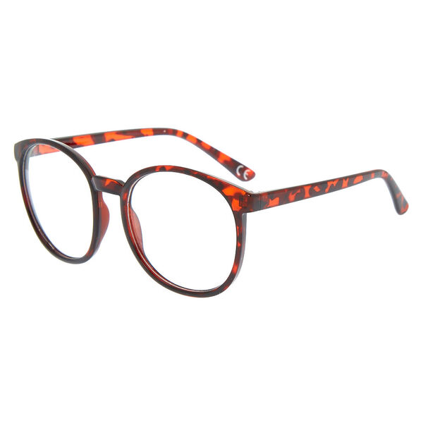 Claire's - oversized round tortoiseshell frames - 1