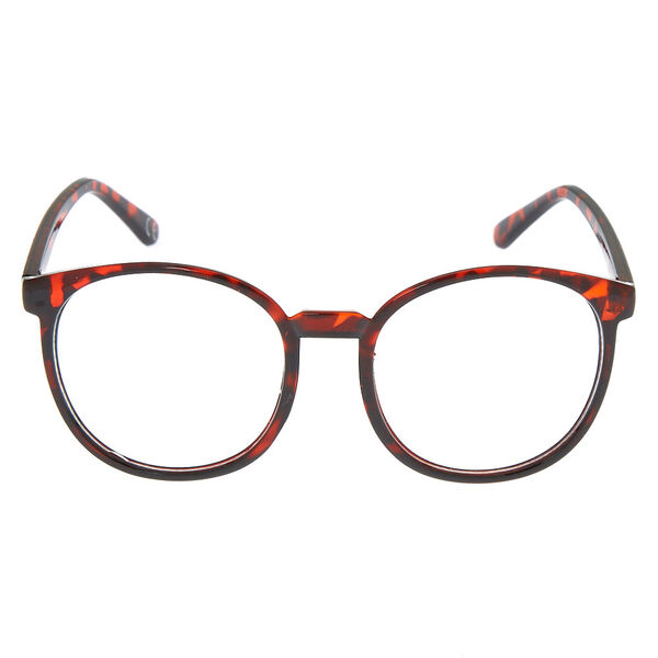 Claire's - oversized round tortoiseshell frames - 2