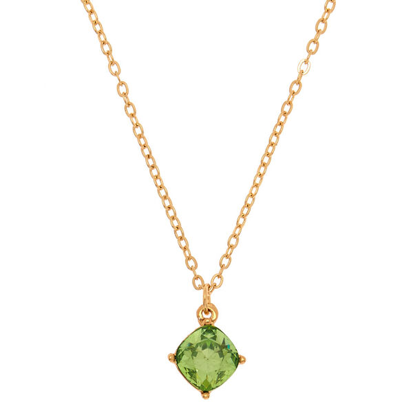 Claire's - august birth stone pendant necklace - 1