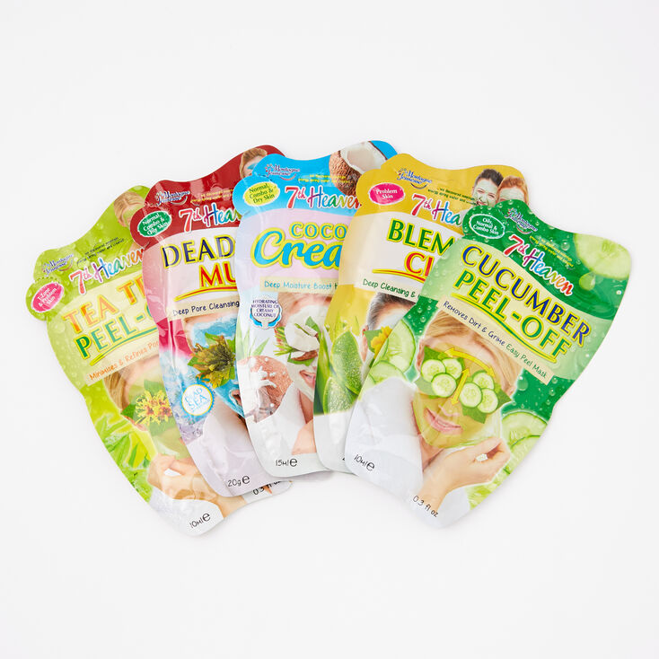 7th Heaven Face Mask Gift Set - 5 Pack,