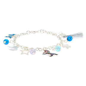 Cosmic Nature Charm Bracelet - Blue,