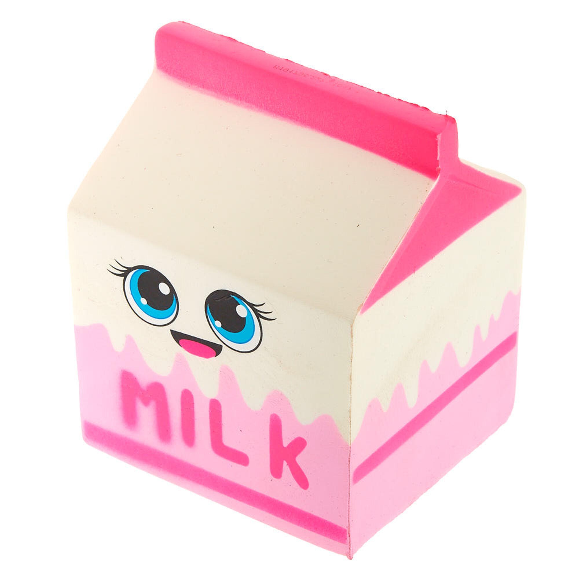 Squeezeables Milk Carton Squish Toy | Claire\'s US