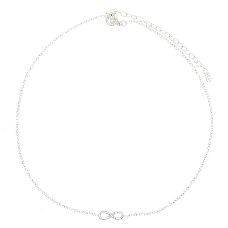 Sterling Silver Infinity Anklet,