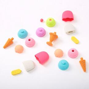 Rainbow Ice Cream Popsicle Erasers - 5 Pack,