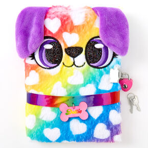 Dottie the Puppy Rainbow Lock Diary,