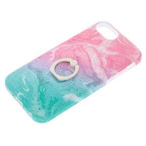 27c28b7374 Pastel Watercolour Protective with Ring Holder Phone Case - Fits iPhone 6/7 /8