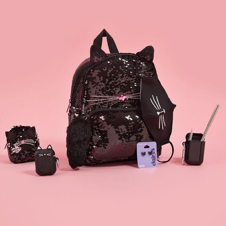 Sequin Black Cat Set,