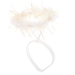 Claire's Club Angel Halo Headband - White,