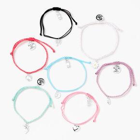 Sky Brown™ Rainbow Bracelet Set - 7 Pack,
