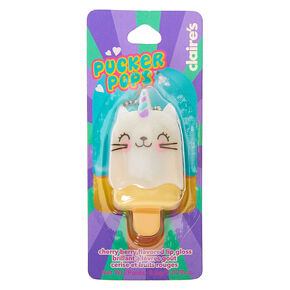 Pucker Pops Caticorn Lip Gloss - Cherry Berry,