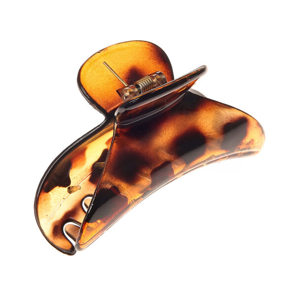Claire's - tortoise shell hair claw - 1