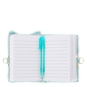 83e24ac1c4e Claire s Club Hazel the Owl Plush Lock Diary - Teal