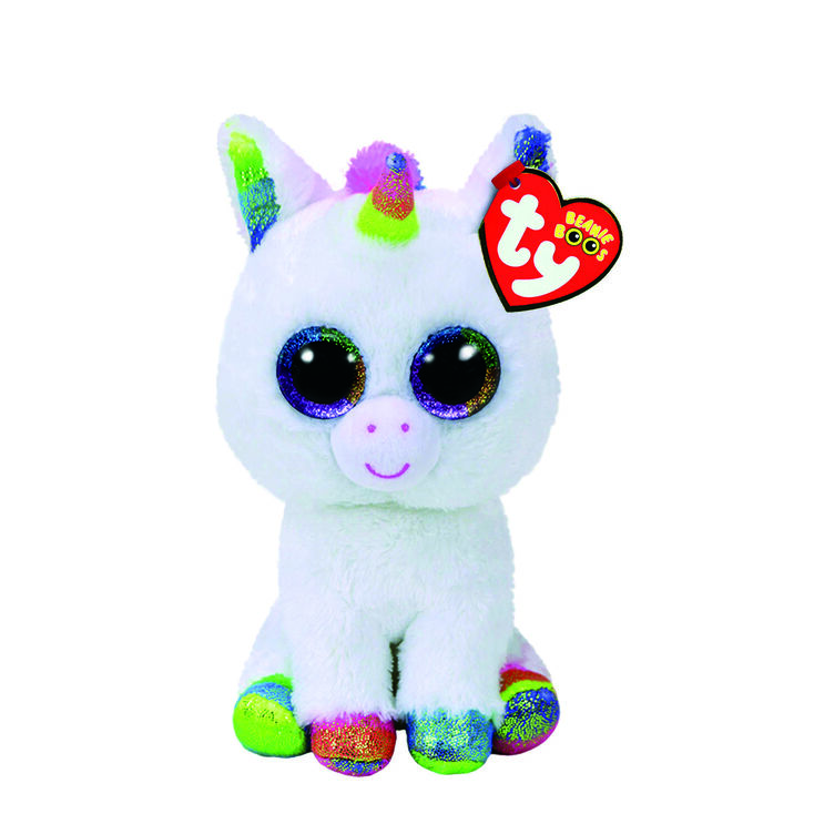 Ty Beanie Boo Small Pixy The Unicorn Soft Toy,