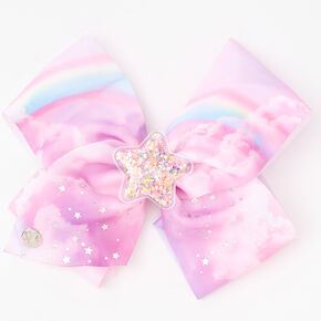JoJo Siwa™ Star Rainbow Hair Bow,
