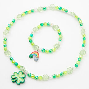 St. Patrick's Day Beaded Jewelry Set - 2 Pack,