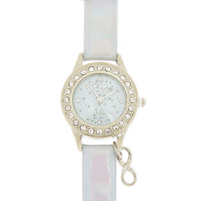 ea0be02aa623 Silver Holographic Classic Watch