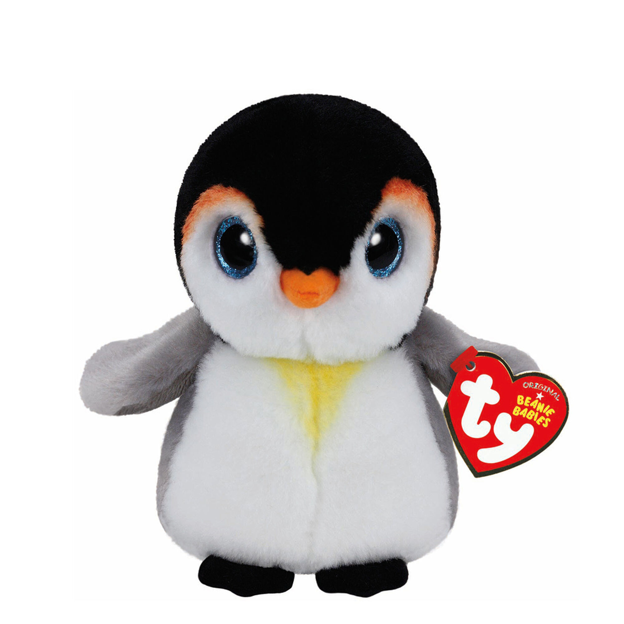 Ty Beanie Baby Small Pongo the Penguin Plush Toy   Claire's