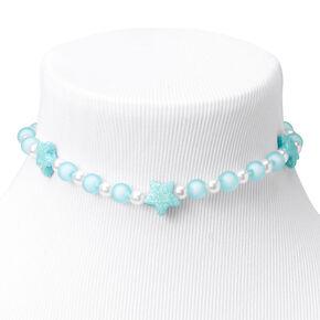 Claire's Club Mermaid Stretch Bracelets - Blue, 2 Pack,