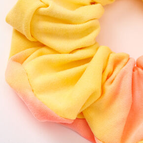 Medium Sunset Tie Dye Hair Scrunchie,