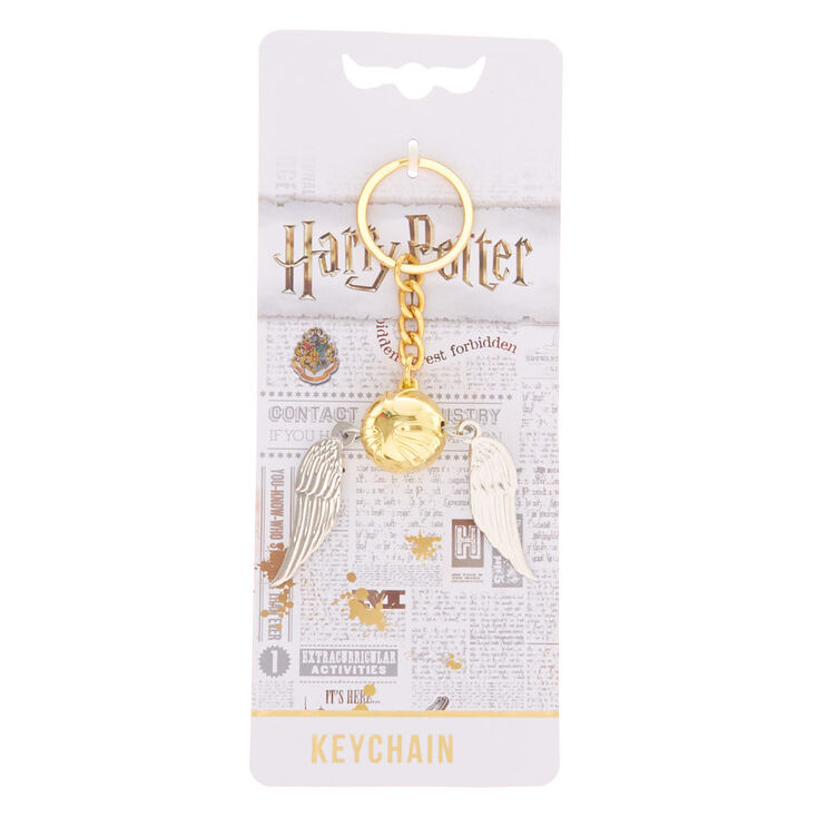 Harry Potter™ Flying Golden Snitch Keychain,