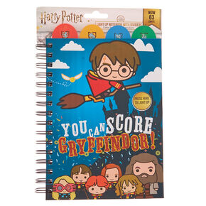 Harry Potter™ Light up notebook with dividers – Blue,