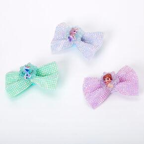 ©Disney Frozen Gem Hair Bow Clips - 3 Pack,
